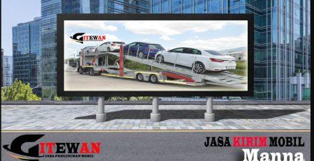 Jasa Kirim Mobil Manna