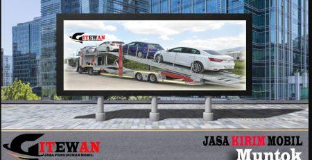 Jasa Kirim Mobil Muntok