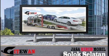 Jasa Kirim Mobil Solok Selatan