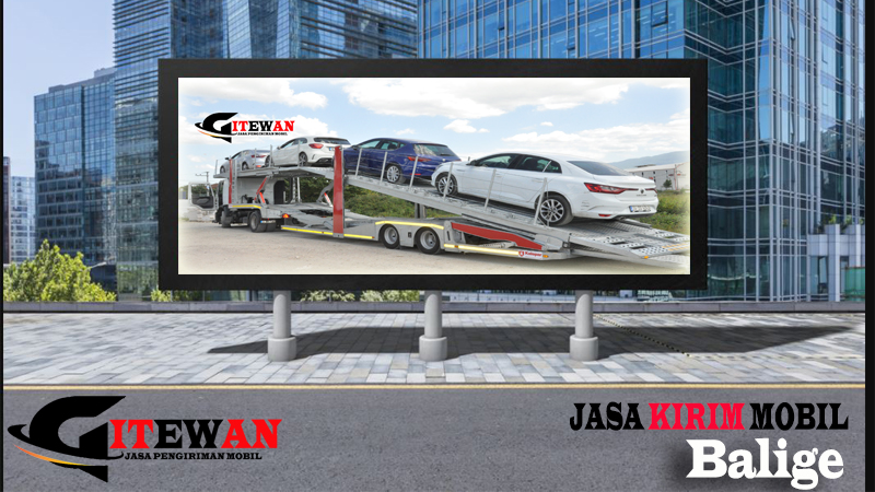 Jasa Kirim Mobil Balige