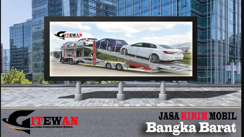 Jasa Kirim Mobil Bangka Barat