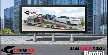 Jasa Kirim Mobil Bantul