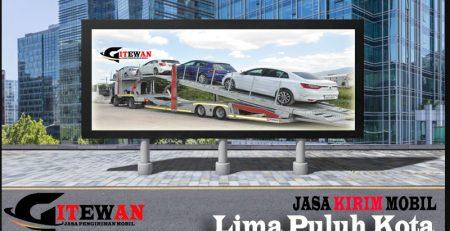 Jasa Kirim Mobil Lima Puluh Kota