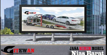 Jasa Kirim Mobil Nias Barat