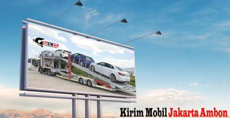 Kirim Mobil Jakarta Ambon
