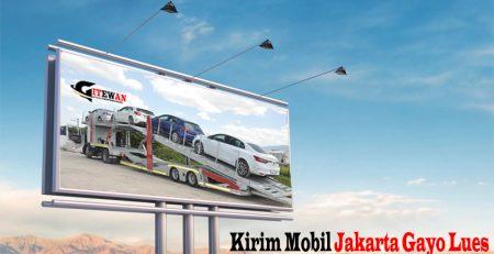 Kirim Mobil Jakarta Gayo Lues
