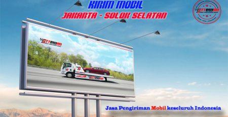 Kirim Mobil Jakarta Solok Selatan
