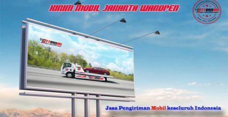 Kirim Mobil Jakarta Waropen