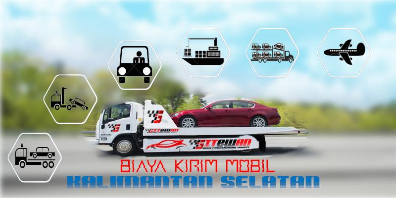 Biaya Kirim mobil Kalimantan Selatan