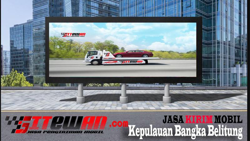 Jasa Kirim Mobil Kepulauan Bangka Belitung