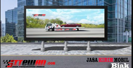 Jasa Kirim Mobil Biak