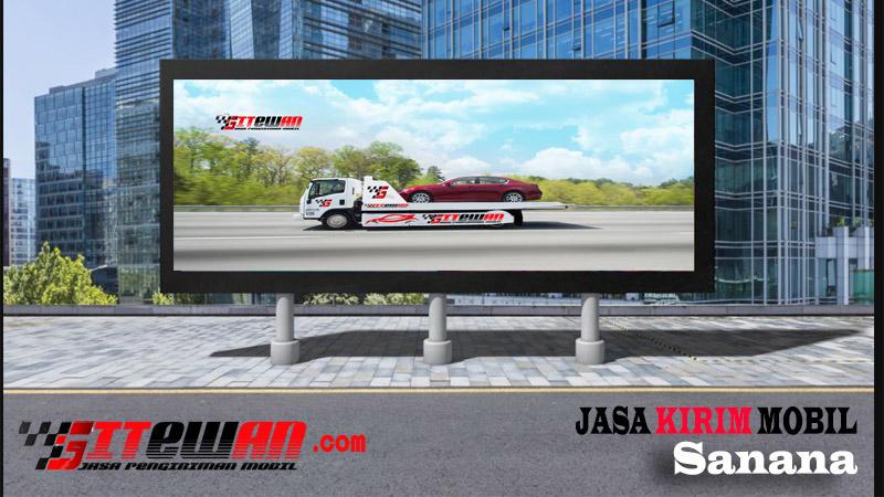 Jasa Kirim Mobil Sanana